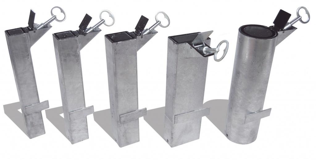 Système d'amovibilité pour barrières de ville