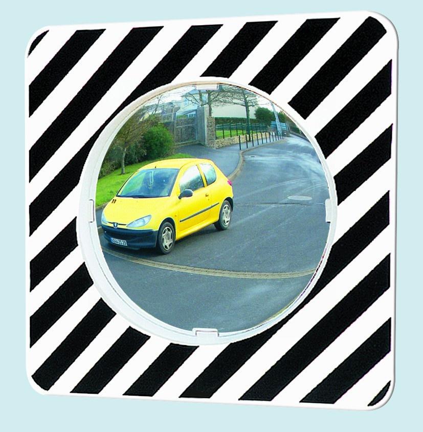 Miroir routier rond