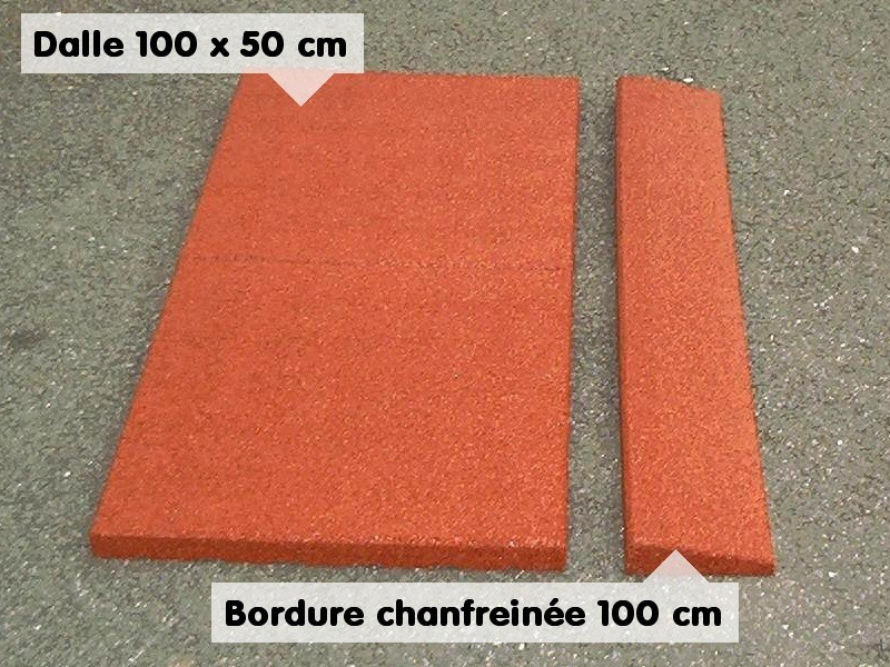 Bordure chanfreinée