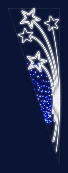 Brassé d'étoiles